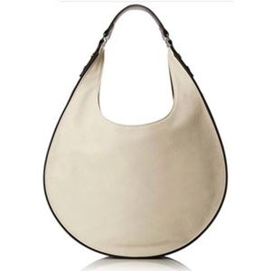 French Connection Elite Contrast Trimmed Hobo Bag